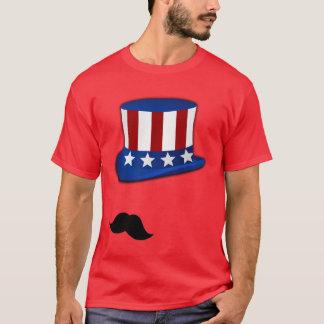 Patriotic Stache T-Shirt