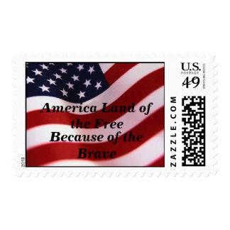 Patriotic Stamp