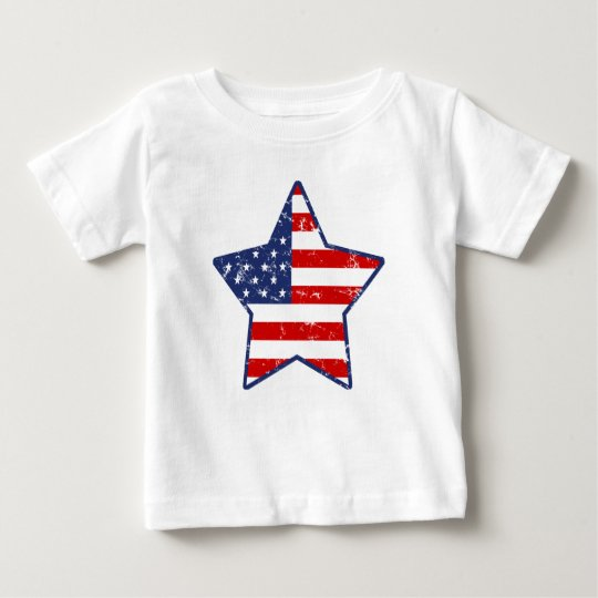 Patriotic Star Baby T-Shirt