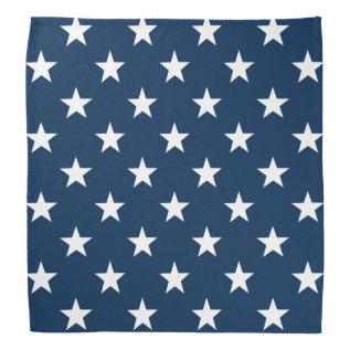 Patriotic Star Bandana | 4th Of July Accessories at Zazzle