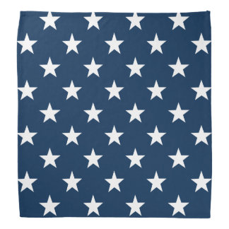 Patriotic star bandana | 4th of july accessories