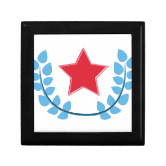 Patriotic Star Jewelry Box