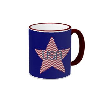 Patriotic Star Mug