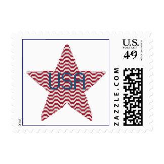 Patriotic Star Postage