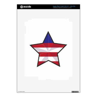 Patriotic Star iPad 3 Skin