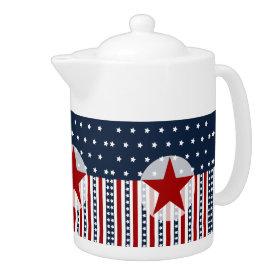 Patriotic Stars and Stripes American Flag Design