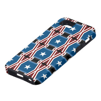 Patriotic Stars And Stripes iPhone SE/5/5s Case