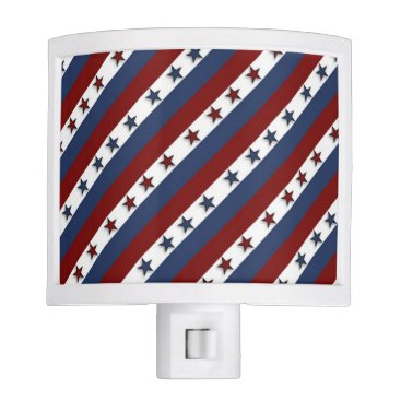 Country1969 Patriotic Stars and Stripes Night Light