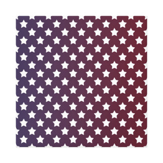 Patriotic Stars Canvas Print