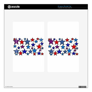 patriotic stars effects.jpg kindle fire skin