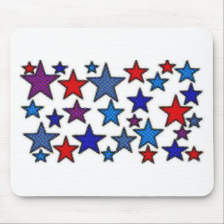 patriotic stars effects.jpg mouse pad