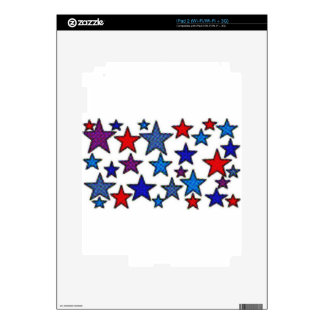 patriotic stars effects.jpg skin for the iPad 2