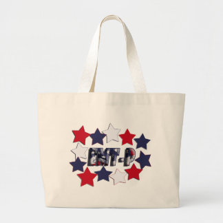 PATRIOTIC STARS EMT-P EMERGENCY MED TECH PARAMEDIC CANVAS BAGS