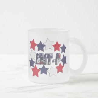 PATRIOTIC STARS EMT-P EMERGENCY MED TECH PARAMEDIC COFFEE MUG