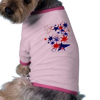 Patriotic Stars Pet Clothing
