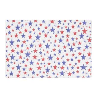 Patriotic Stars Placemat