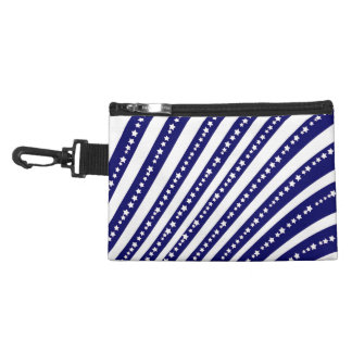Patriotic Stars Stripes Freedom Flag 4th of July Accessory Bag