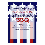 Patriotic Stars Stripes Freedom Flag 4th Of July Card at Zazzle