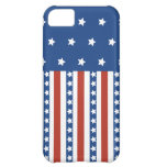Patriotic Stars Stripes Freedom Flag 4th of July iPhone 5C Cases
