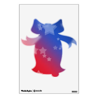 Patriotic Stars Wall Sticker