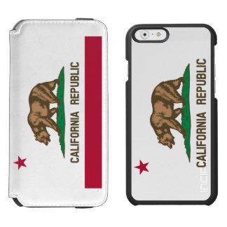Patriotic State Flag of California Republic Incipio Watson™ iPhone 6 Wallet Case