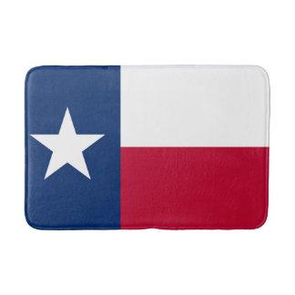 Patriotic State Flag of Texas Bath Mats