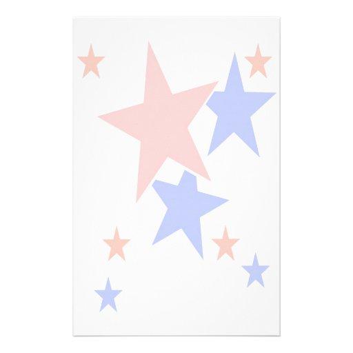 Patriotic Stationary Customized Stationery