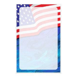 Patriotic Stationery #1