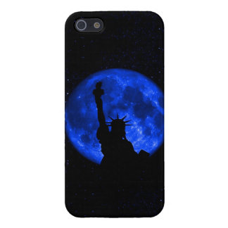 Patriotic Statue Of Liberty at night iPhone SE/5/5s Cover