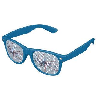 Patriotic Strings Retro Sunglasses