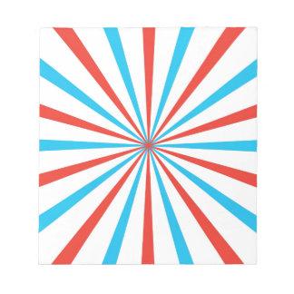 Patriotic Stripes Notepads