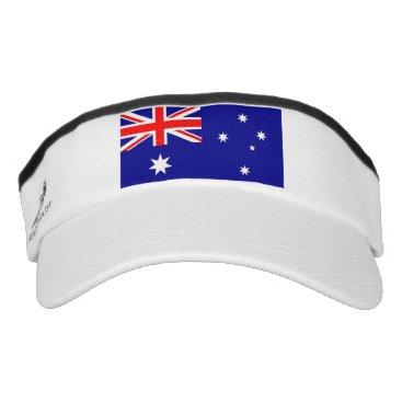 Patriotic Sun Visor with flag of Australia