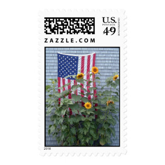 Patriotic Sunflowers Stamps