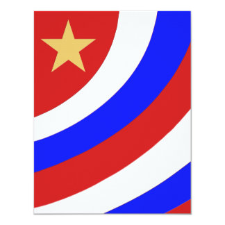 patriotic swoop with gold star card