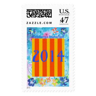 Patriotic Symbol, Catalonia 1714-2014 ,stamps Postage