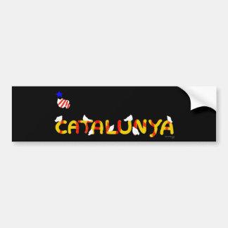 Patriotic Symbol, Catalonia freedom , Catalunya Bumper Sticker