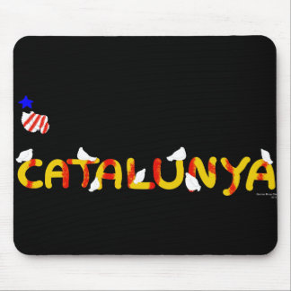 Patriotic Symbol, Catalonia freedom , Catalunya Mouse Pad