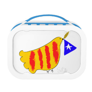 Patriotic Symbol, Catalonia freedom dove.