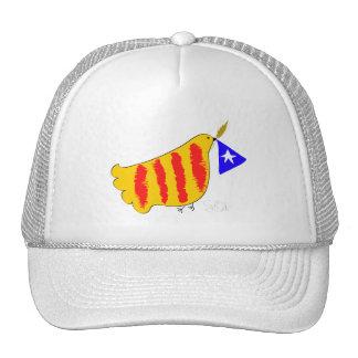 Patriotic Symbol, Catalonia freedom dove.Catalunya Trucker Hat