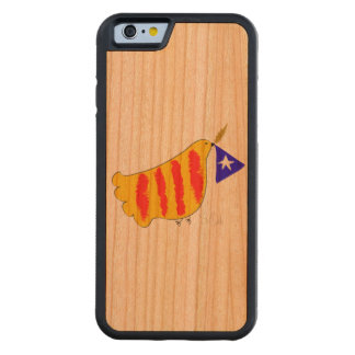 Patriotic Symbol, Catalonia freedom, iphone6 Carved Cherry iPhone 6 Bumper Case