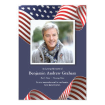 Patriotic Sympathy Cards | U.S. Flag