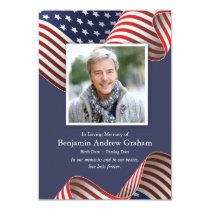 Patriotic Sympathy Cards | U.S. Flag 1