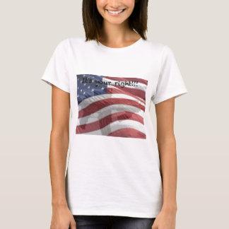 Patriotic t-shirts, mugs, post cards, etc. T-Shirt