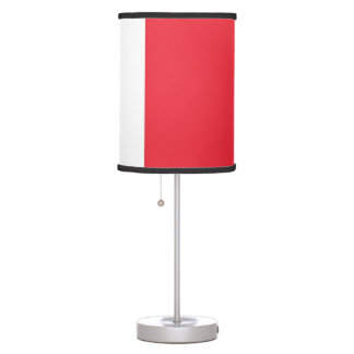 Patriotic table lamp with Flag of France