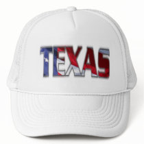 Patriotic Texas and American Flag Hat