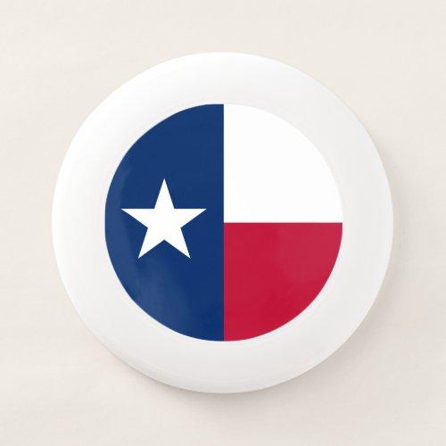 Patriotic Texas State Flag Wham_O Frisbee