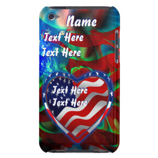 Patriotic Theme  Important See Notes Barely There iPod Case