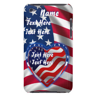 Patriotic Theme  Important See Notes Barely There iPod Cover