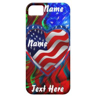 Patriotic Theme  Please View Notes iPhone SE/5/5s Case