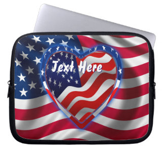 Patriotic Theme  Please View Notes Laptop Sleeve